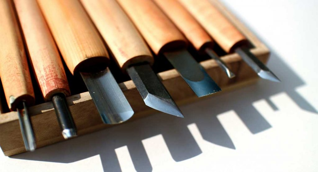 Best Wood Carving Tools - a selection of fine chisels
